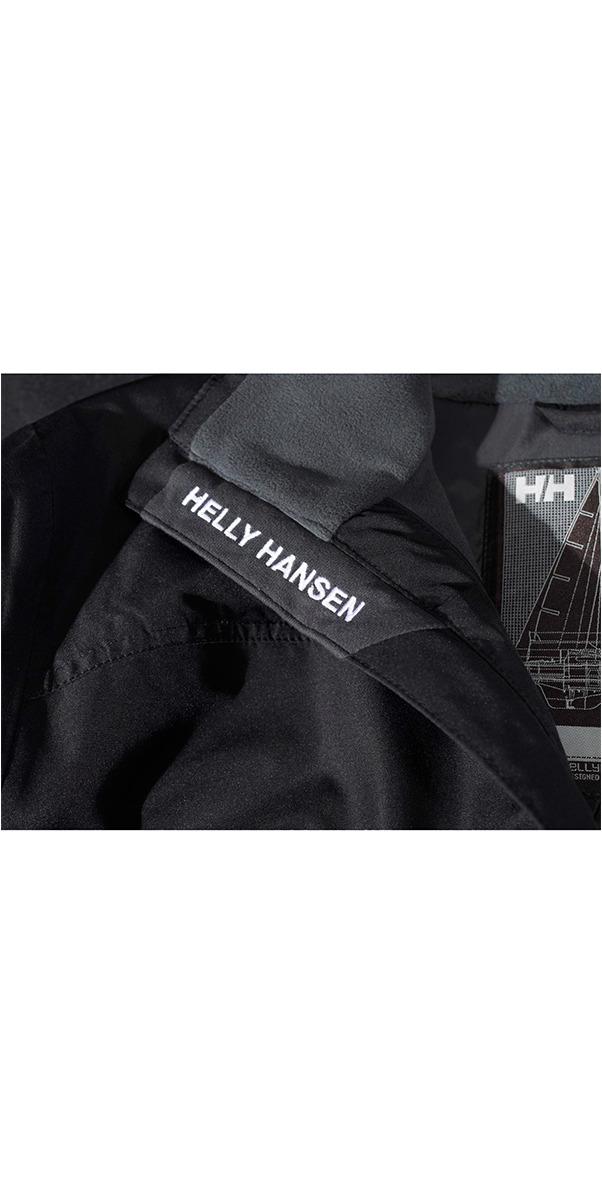 2019 Helly Hansen Crew Midlayer Veste Noir 30253