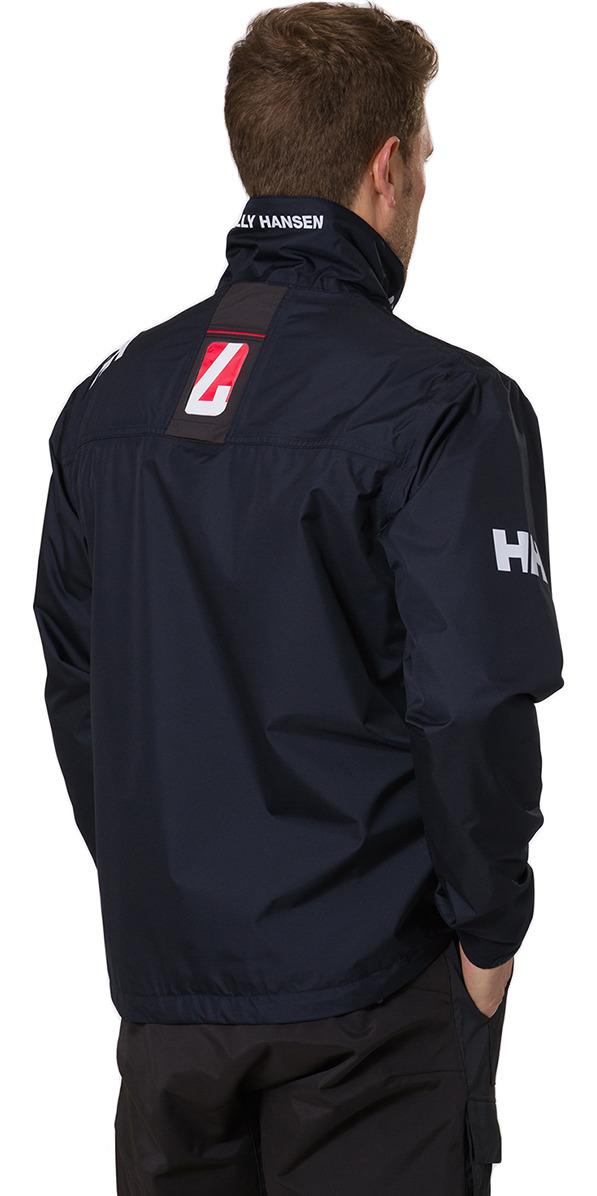 2019 Helly Hansen Herre Crew Midlayer Jakke Navy 30253