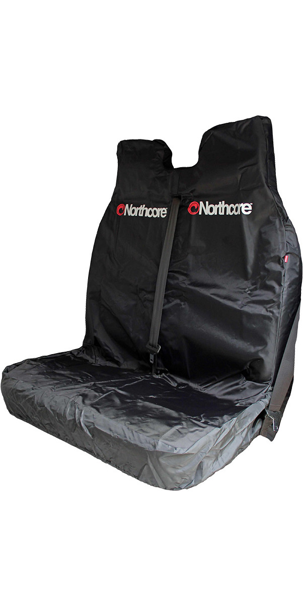 2020 Northcore Waterproof Double Van Seat Cover BLACK NOCO06