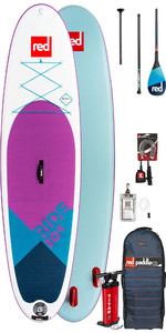 2019 Red Paddle Co Ride 10'6 Se Aufblasbares Stand Up Paddle Board - Carbon 100 Paket