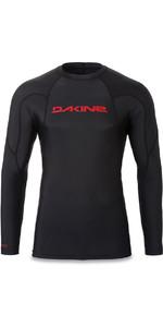 2018 Dakine Heavy Duty Snug Fit Long Sleeve Rash Vest Black 10001655