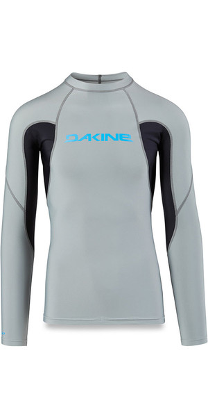 2018 Dakine Heavy Duty Snug Fit manica lunga Rash Vest carbonio 10001655
