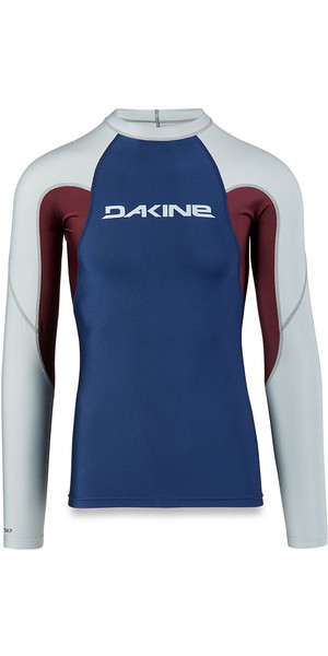 2018 Dakine Heavy Duty Snug Fit manica lunga Rash Vest in resina 10001655