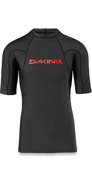 2018 Dakine Heavy Duty Snug Fit Short Rash Vest nero 10001656
