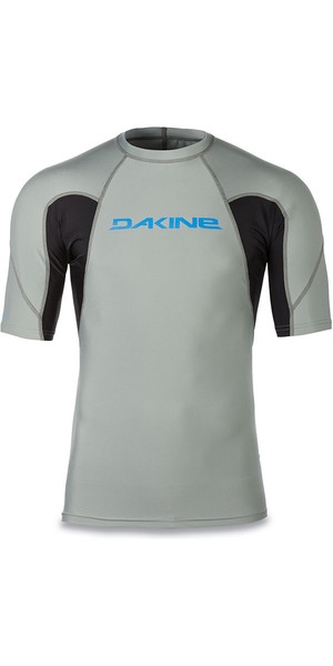 2018 Dakine Heavy Duty Snug Fit manica corta Rash Vest carbonio 10001656