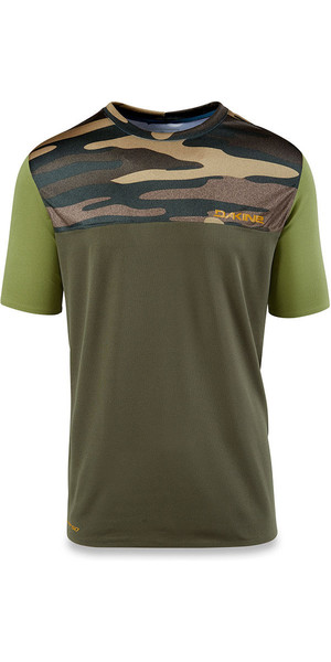 2018 Dakine Intermission Loose Fit à manches courtes Surf Shirt Camo de terrain 10001660