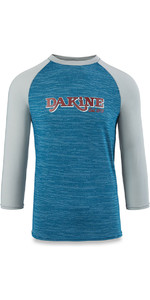 Dakine Roots Ragaln Loose Fit 3/4 mouwen Surf shirt hars Heather 10001665