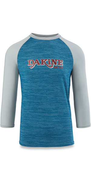 2018 Dakine Roots Ragaln Loose Fit 3/4-Ärmeln Surf Shirt Resin Heather 10001665