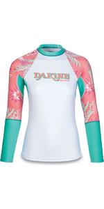 Dakine Frauen Flow Print Snug Fit Langarm Rash Weste Waikiki 10001677