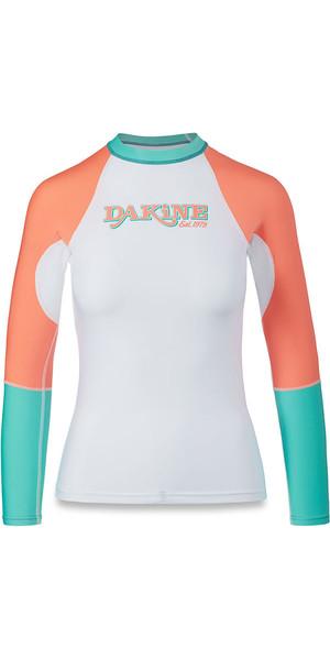 2018 Dakine Damen Flow Snug Fit Langarm Rash Vest Waikiki 10001678