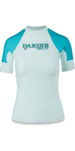 Dakine Femmes Flux Ajustement Serré à Manches Courtes Gilet Rash Bay Islands 10001680