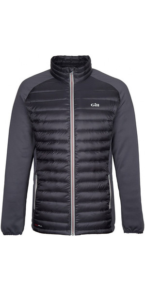 2019 Gill Hybrid Down Jacket Charcoal 1064