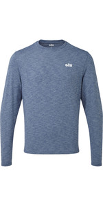2021 Gill Mens Holcombe Crew Base Layer Ocean 1100