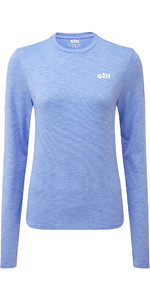 2021 Gill Womens Holcombe Crew Base Layer Sky 1100W