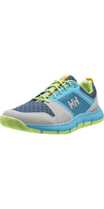 Helly Hansen - Zapatillas de vela para mujer Skagen F-1 Offshore Light Grey 11313