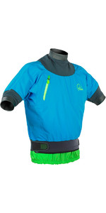 Palm Zenith Short Sleeve Whitewater Jacket Aqua 11442