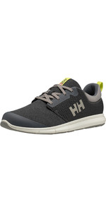 2020 Helly Hansen Feathering Zapatillas De Vela 11572 - Carbón / ébano