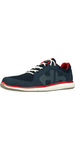 2021 Helly Hansen Ahiga V4 Hydropower 11582 - Navy / Flag Red
