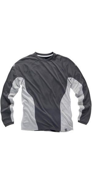 2018 Gill Mens I2 manches longues T-Shirt Ash / Argent 1277