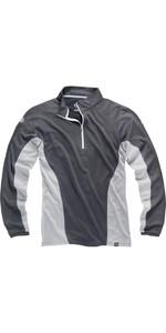 Gill Men's I2 Long Sleeve Zip Neck Top Ash / Silver 1278