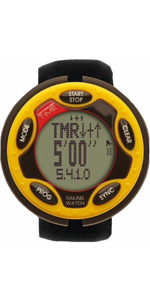 2019 Optimum Time Series 14 Orologio a vela ricaricabile YELLOW 1455R