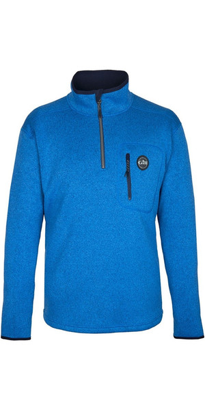 2018 Gill Herren Strick Fleece Blau 1492