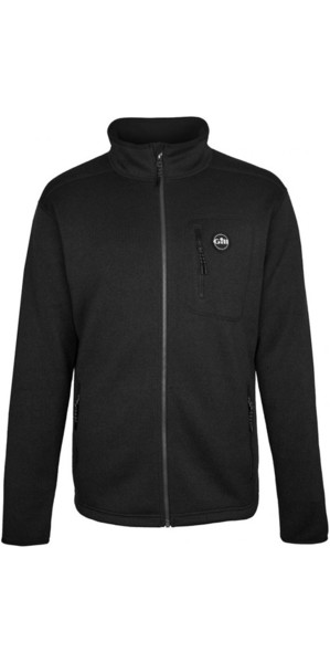 2019 Gill Mens Knit Fleecejacke Graphite 1493