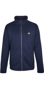 Gill Gillette Strick-Fleecejacke von Navy 1493