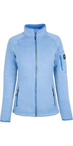 2019 Gill Womens Knit Fleecejacke Blau 1493W