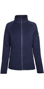2019 Gill Damen Strick Fleece Jacke Navy 1493w