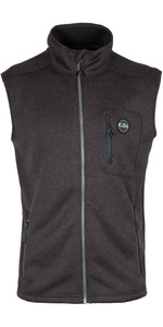 2018 Gill Mens Knit Fleece Gilet Graphite 1494