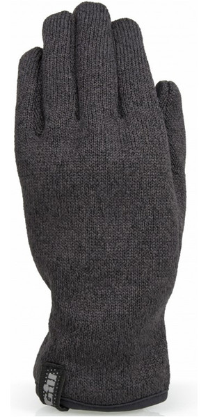 2019 Gill Knit Fleece Gloves Graphite 1495