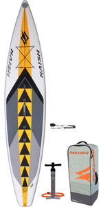 "2020 Naish One 12'6 ""x 30"" Paquete De Stand Up Paddle Board - Tabla, Bolsa, Bomba Y Correa 15100"