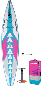 "2020 Naish One Alana 12'6 ""x 30"" Paquete De Stand Up Paddle Board - Tabla, Bolsa, Bomba Y Correa 15110"