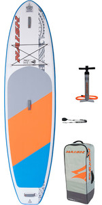2020 Naish Nalu 10'6 Stand Up Paddle Board Package - Tabla, Bolsa, Bomba Y Correa 15120