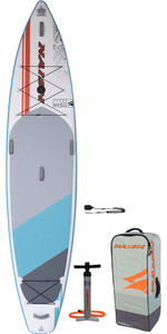 2020 Naish Glide Fusion 12'6 Paquete De Stand Up Paddle Board - Tabla, Bolsa, Bomba Y Correa 15180