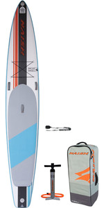 2020 Naish Maliko Light 14'0 Fusion Carbon Stand Up Paddle Board Paket - Board, Tasche, Pumpe & Leine 15230