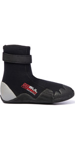 2019 Gul Power Botas De Neoprene De Dedo Do Pé Redondo De 5mm Bo1263-a8 - Preto / Cinza