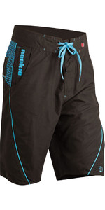 2020 Nookie Boardies Boardshorts BLACK / BLUE SW010