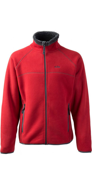 2018 Gill Herren Polar Fleece Jacke in ROT 1700
