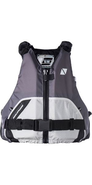 2019 Magic Marine Brand Wave Front Zip Buoyancy Aid Light Grey 170074