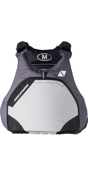 2019 Magic Marine Brand Wave Zip Free Buoyancy Aid Light Grey 170075