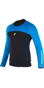 2019 Magic Marine Mens Ultimate Long Sleeve 3mm Neoprene Top Blue 170078