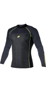 2019 Magic Marine Mens Ultimate L / S 1.5mm Neopreno Top Negro 170079