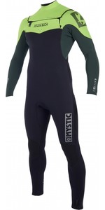 2019 Mystic Star 3/2mm Double Front Zip Wetsuit Teal 180017