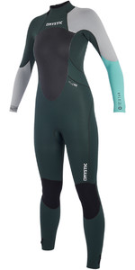 2019 Mystic Womens Star 5/4mm Back Zip Wetsuit Teal 180029