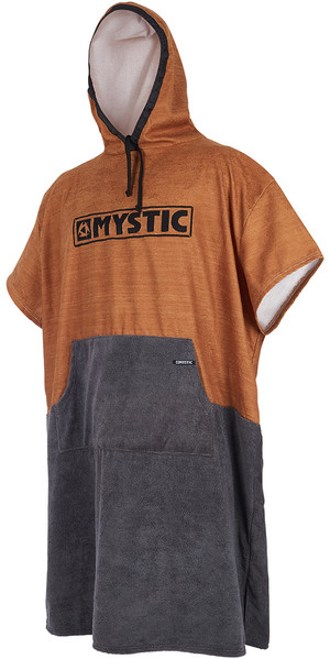 2018 Mystic Poncho Regular Seal Brown 180031