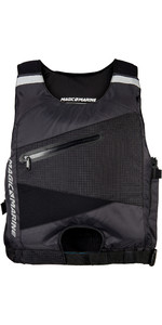 2020 Magic Marine Racing Side Zip Buoyancy Aid Black 180054