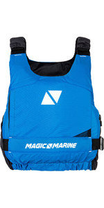 2019 Magic Marine Ultimate Side Zip Buoyancy Aid Blue 180055