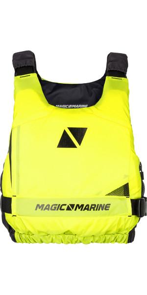 2019 Magic Marine Ultimate Side Zip Buoyancy Aid Flash Yellow 180055